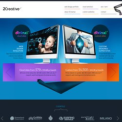 Web Design Gold Coast Website Design - 2 Creative - Web Designers - Non Freelance Web Site Design