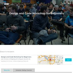 Design and Code Workshop for Beginners