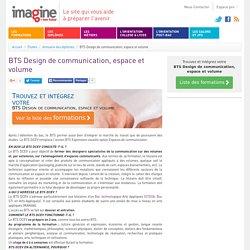 BTS Design de communication, espace et volume