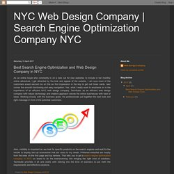 Search Engine Optimisation Company in NYC