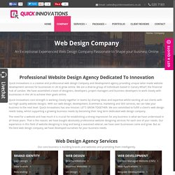 Web Design Company London - Professional UK Web Design Agency