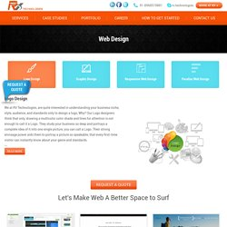 Best Web Design Company India - RV Technologies