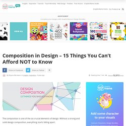 Design Composition - 15 Things You Can't Afford NOT to Know