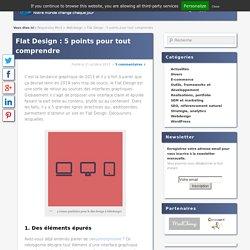 Flat Design : 5 points pour tout comprendre - Responsive Mind