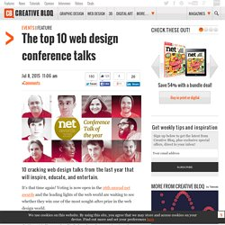 The top 10 web design conference talks