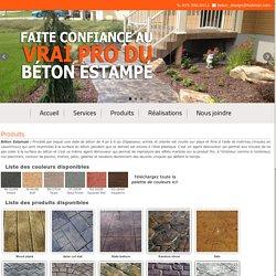 Béton Design - Faites confiance au vrai PRO du béton estampé