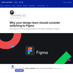 Why your design team should consider switching to Figma