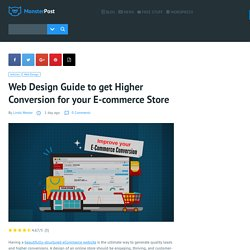 Web Design Guide to get Higher Conversion for your E-commerce Store