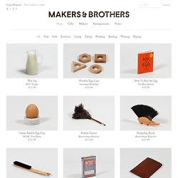 Shop — Makers & Brothers