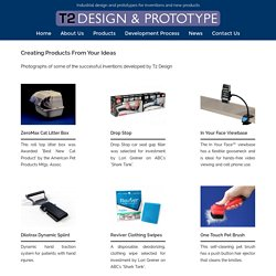T2 Design - Creating Products From Your Ideas
