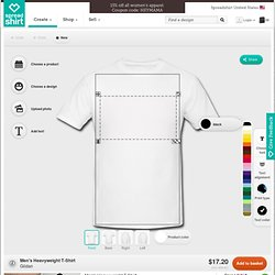 Custom T-Shirts | Design your own T-Shirt