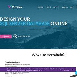 Design Your SQL Server Database Online