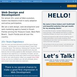 Professional company offering attractive web design services in Stuart FL