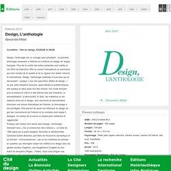 Design, l'anthologie