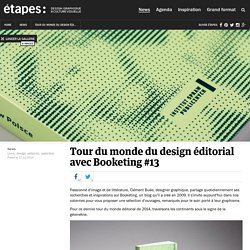 Tour du monde du design éditorial avec Booketing #13