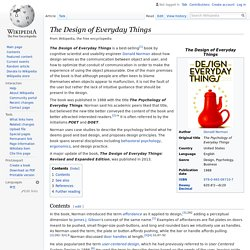 The Design of Everyday Things - Wikipedia
