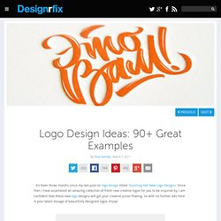 Logo Design Ideas: 90+ Great Examples
