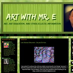 Art With Mr. E: Line Design Explained : Deluxe Edition