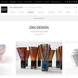 ZAN DESIGN – Exposants – MAISON&OBJET PARIS