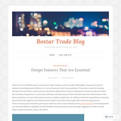 Design Features That Are Essential – Bostar Trade Blog