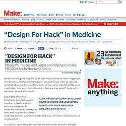 """Design For Hack"" in Medicine"