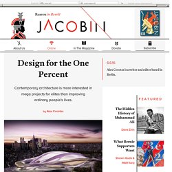 Design for the One Percent