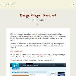 Design Fridge – Featured