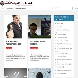 Free Web Design Articles, Web Design Tutorials & Web Design Resources