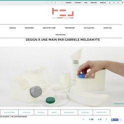Design à une main — Gabriele Meldaikyte (objet)
