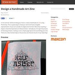 Design a Handmade Art Zine