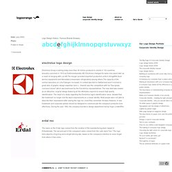 Logo Design History - Famous Logos E