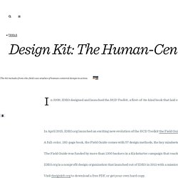 Design Kit: The Human-Centered Design Toolkit