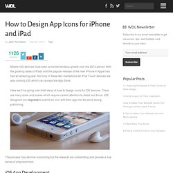 How to Design App Icons for iPhone and iPad