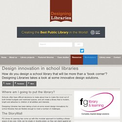 Design innovation in school libraries