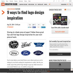 Where to find logo design inspiration