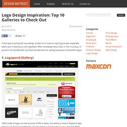 Logo Design Inspiration: Top 10 Galleries to Check Out