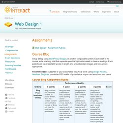 WaSP InterAct Curriculum