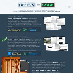 Design Then Code ~ iPhone & iPad Interface Design Tutorials