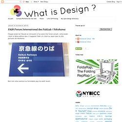 FAB9 Forum International des FabLab / Yokohama