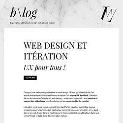 Web Design et itération - UX pour tous !