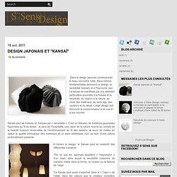 """Design japonais et """"Kansaï"""" ~ Blog de S¨Sens Design"""