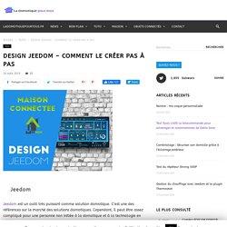 Design Jeedom - Créer son design pas à pas - LDPT