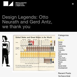 Design Legends: Otto Neurath and Gerd Antz, we thank you — Blog — D4