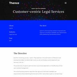 Thence UI/UX Design Company