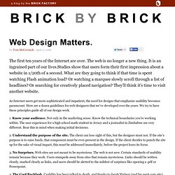 The Bivings Report » Web Design Matters.