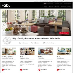 Fab is the place to discover the most exciting things for your life.
