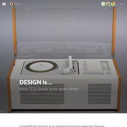 DESIGN is…
