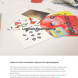 Logiciels open source Design & Métiers d'Art