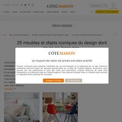 Design : meubles et objets célèbres