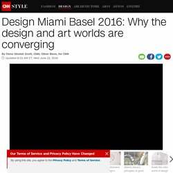 Design Miami Basel: Why design and art are converging